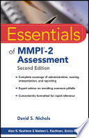 Essentials of MMPI 2 Assessment