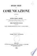 Diversi mezzi di comunicazione volume unico, illustrato opera del Dottor Dionigi Lardner