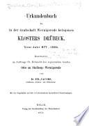 Geschichtsquellen der Provinz Sachsen und des Freistaates Anhalt