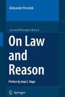 download ebook on law and reason pdf epub