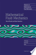 Mathematical Fluid Mechanics
