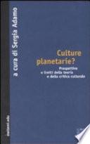 Culture planetarie