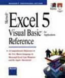 Microsoft Excel Visual BASIC for Applications Reference
