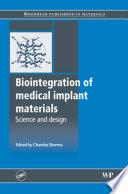 Biointegration of Medical Implant Materials