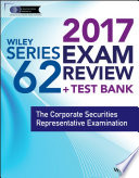Wiley FINRA Series 62 Exam Review 2017