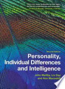 Personality  Individual Differences and Intelligence