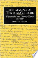 The Making of Textual Culture