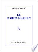 Le Corps Lesbien : les jambes les orteils les pieds les...