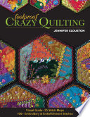 Foolproof Crazy Quilting : canvas of a crazy quilt. jenny clouston's...