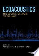 Ecoacoustics
