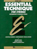 Book Essential technique for strings