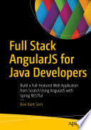 Full Stack AngularJS for Java Developers