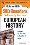 McGraw Hill s 500 European History Questions  Ace Your College Exams