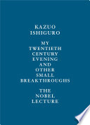 My Twentieth Century Evening and Other Small Breakthroughs Book PDF