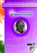 The International Journal of Indian Psychology, Volume 4, Issue 2, No. 96