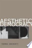 Aesthetic Democracy