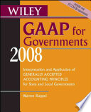 Wiley GAAP for Governments 2008