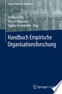 Handbuch Empirische Organisationsforschung