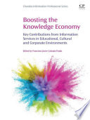 Boosting The Knowledge Economy book