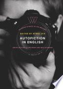 Autofiction in English