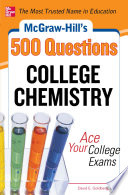 McGraw Hill s 500 College Chemistry Questions