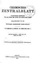 Chemisches Zentralblatt