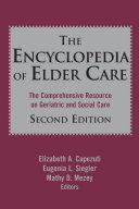 download ebook the encyclopedia of elder care pdf epub