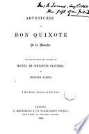Adventures of Don Quixote de la Mancha