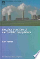 Electrical Operation of Electrostatic Precipitators