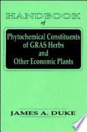 Handbook of Phytochemical Constituent Grass, Herbs and Other Economic Plants Other Economic Plants Is A