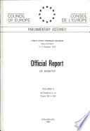 official report of debates volume ii