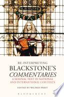 Re Interpreting Blackstone s Commentaries