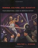 Murder  culture  and injustice