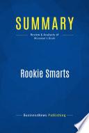 Summary Rookie Smarts