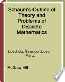 Schaum s Outline of Discrete Mathematics