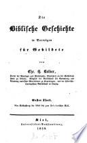 Die Biblische Geschichte