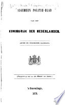 Algemeen politieblad van het koningrijk der Nederlanden