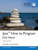 Java How To Program  Early Objects   Global Edition