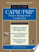 CAPM PMP Project Management Certification All in One Exam Guide  Second Edition