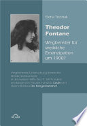 Theodor Fontane   Wegbereiter  f  r weibliche Emanzipation um 1900