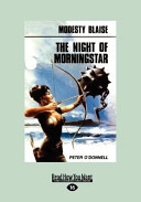 The Night of Morningstar  Large Print 16pt