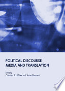 Political Discourse  Media and Translation