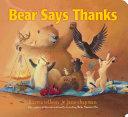 Bear Says Thanks Book