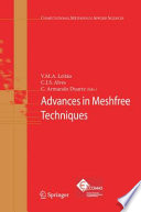 Advances In Meshfree Techniques book