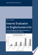 Interne Evaluation im Englischunterricht