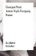 Anton Voyls Fortgang   Roman