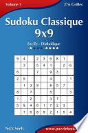 illustration Sudoku Classique 9x9 - Facile à Diabolique - Volume 1 - 276 Grilles