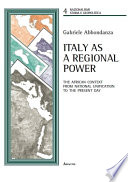 Italy as a Regional Power