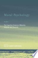 Moral Psychology : their separate ways. in moral philosophy,...