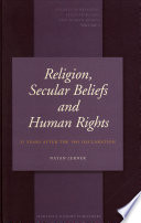 Religion  Secular Beliefs and Human Rights